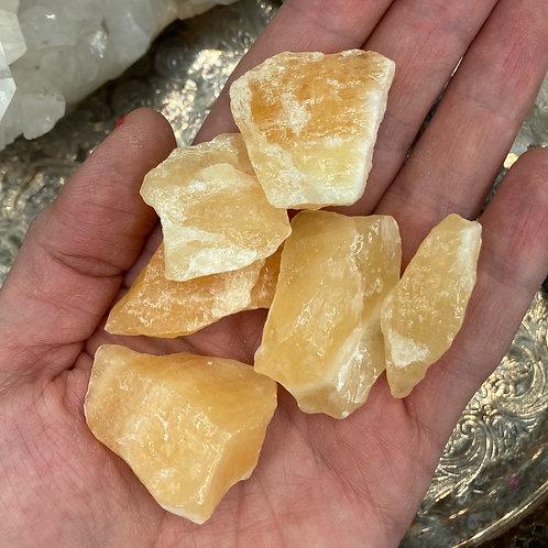 Medium Yellow Calcite Chunk