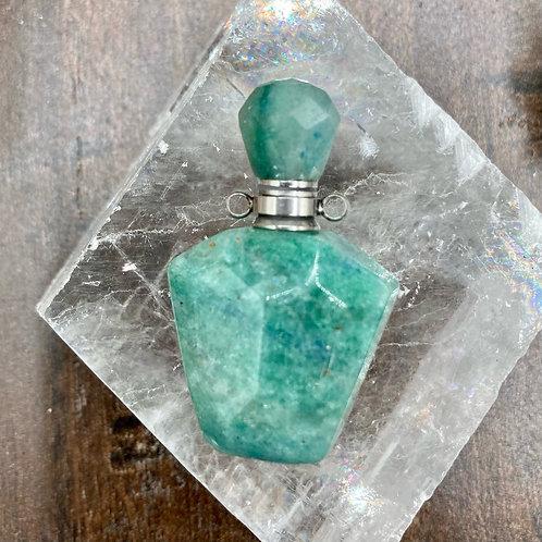 Adventurine Perfume Bottle