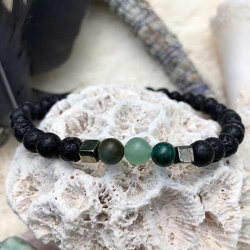Pain and Inflammation Crystal Healing Bracelet