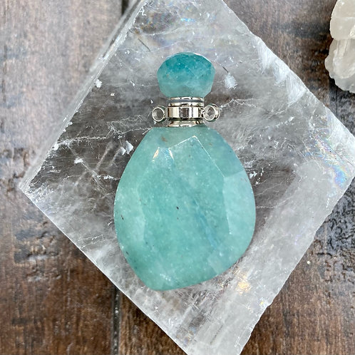 Amazonite Perfume Bottle