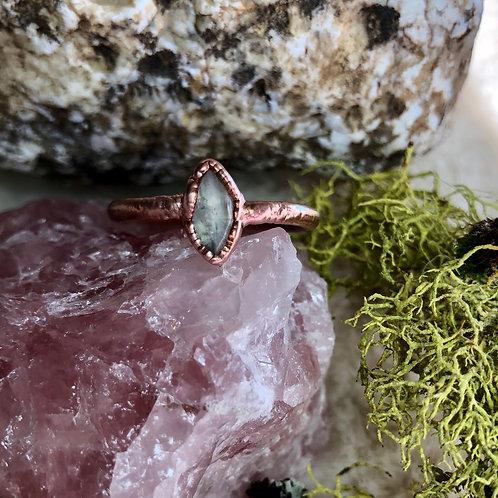 Electroformed Moonstone Ring size ~8