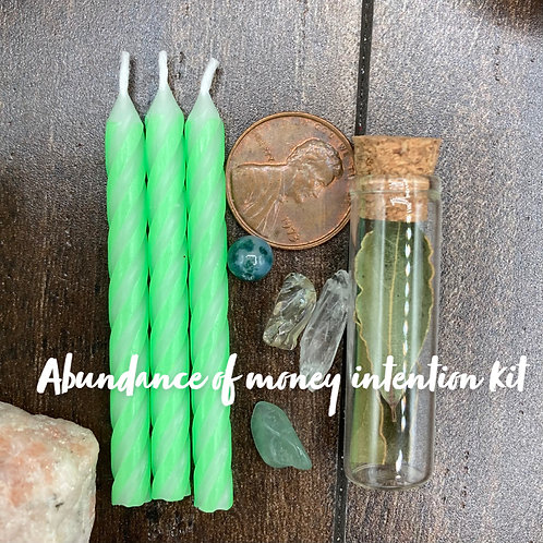 Abundance Intention Kit