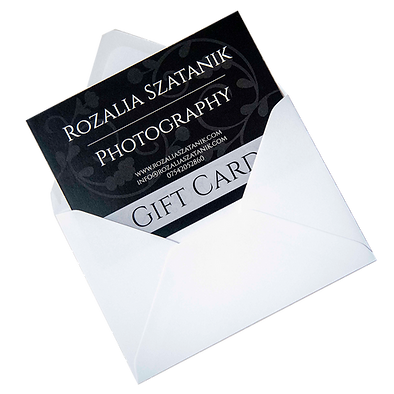 Gift Card for photography session