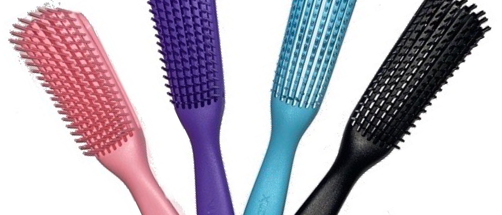 FLEXIBLE DETANGLING HAIR BRUSH