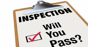 Covid 19 & Internal inspections