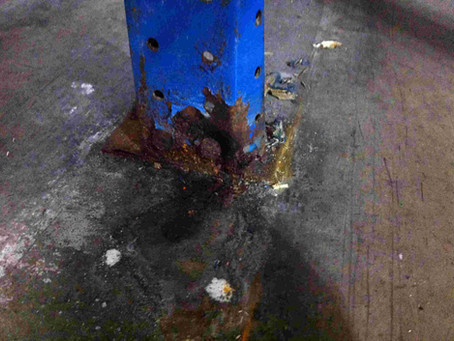 Will corrosion affect the strength of my pallet racking?