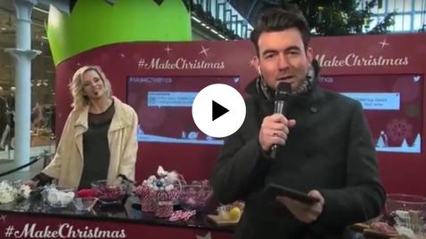Tesco Live Christmas Broadcast