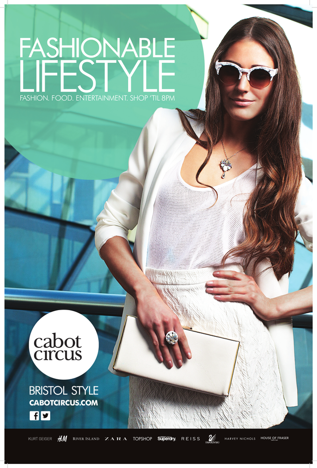 SS13 Print Campaign - Cabot Circus - Bristol