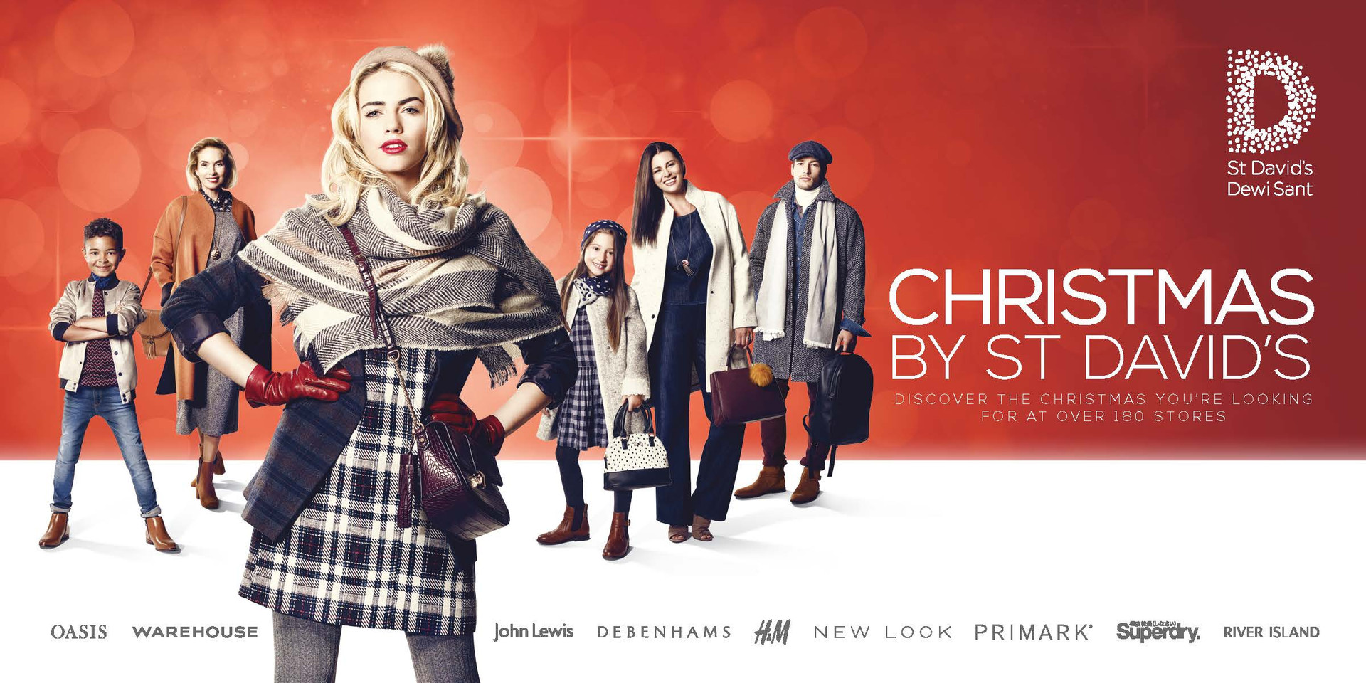 Christmas By St David's - SS16 TV & Print Campaign - Cardiff