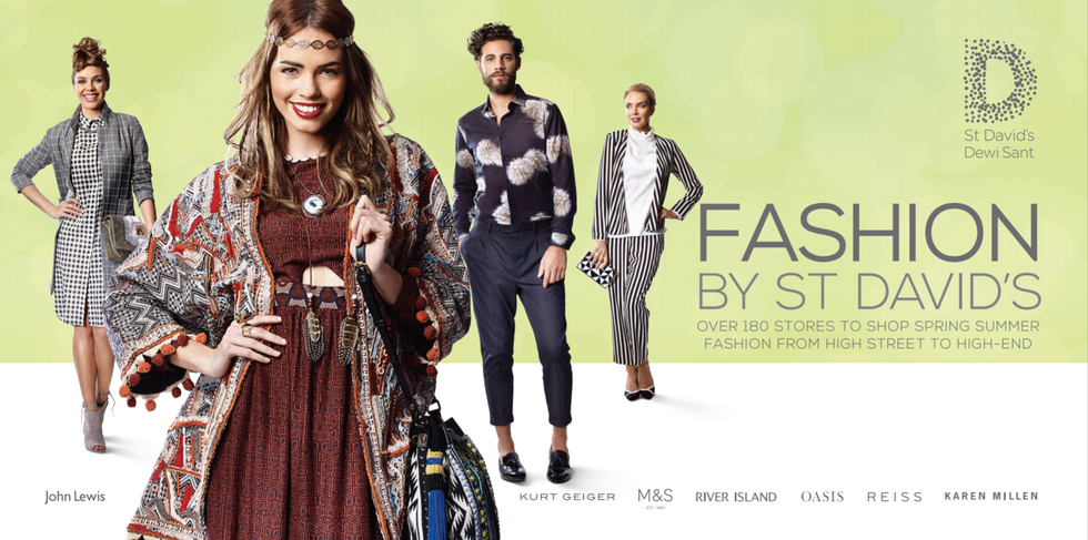 Fashion By St David's - SS16 TV & Print Campaign - Cardiff