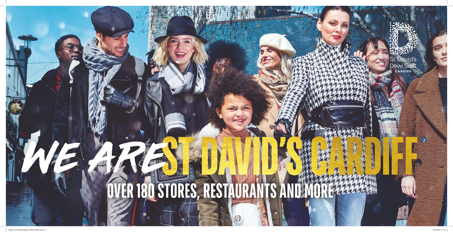 We Are St David's - Christmas Print Campaign - St David's Cardiff