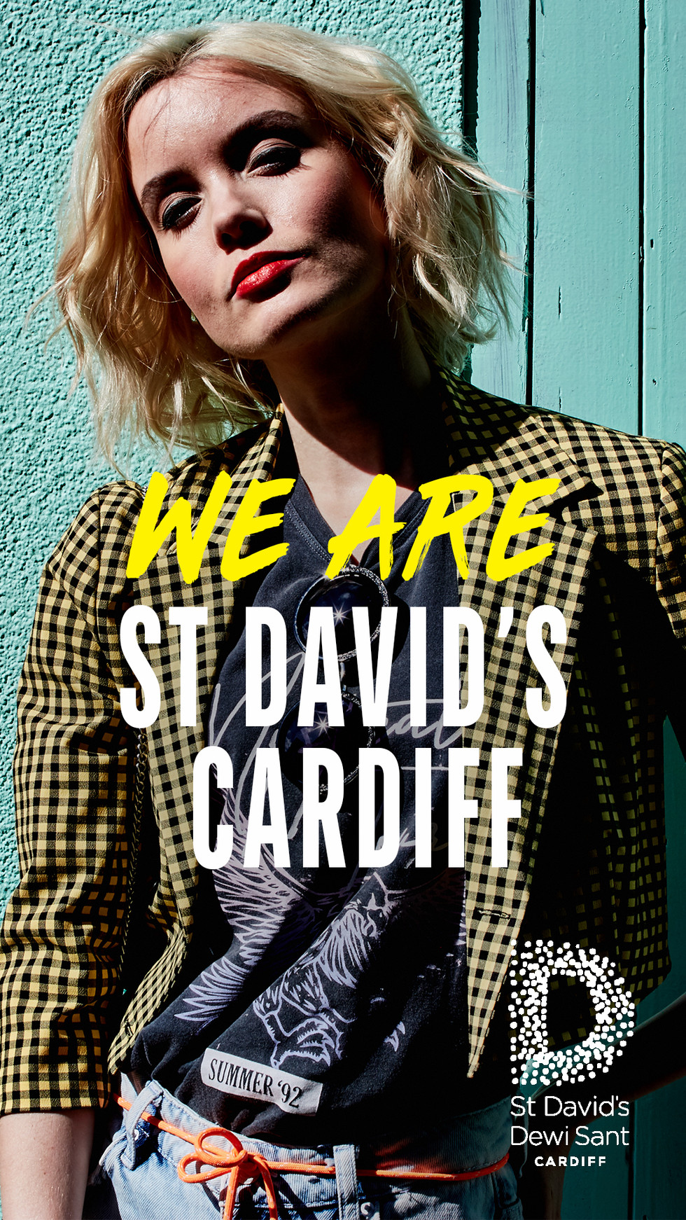 We Are St David's Cardiff - SS19 Print Campaign - Fashion