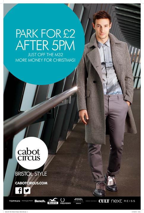 AW13 Print Campaign - Cabot Circus - Bristol