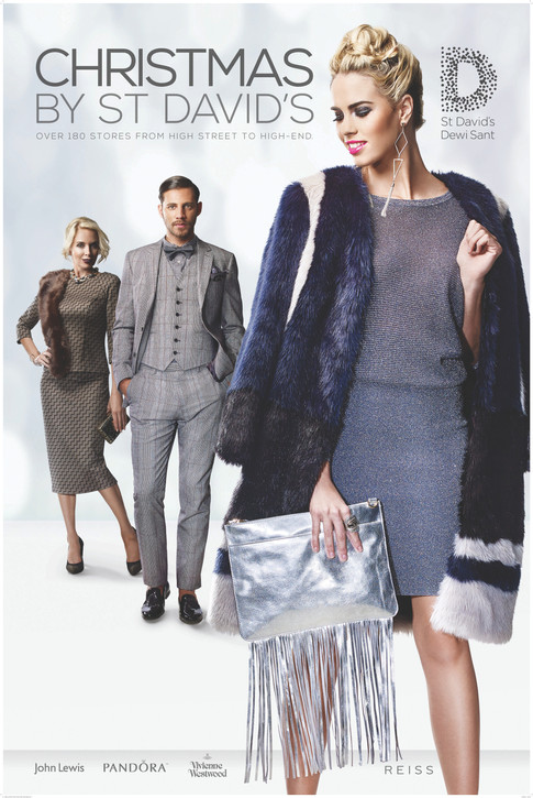 Christmas By St Davids - AW2015 Print Campaign - Cardiff