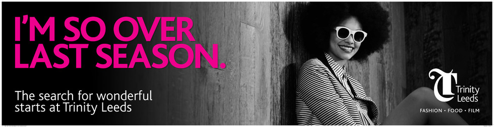 Fashion Food Film SS15 Print Campaign - Trinity Leeds