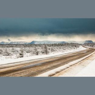 Road to Long Range Mountain