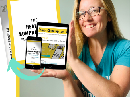 INTRODUCING...The Healthy Mompreneur's Family Chore Binder