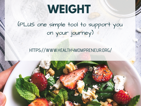 What's Really Behind Your Desire to Lose Weight (+ 1 simple tool to support you on your journey)