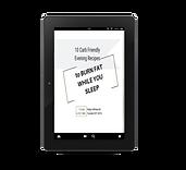10 carb friendly recipes tablet mockup.p