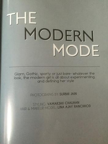 Published in Creme Magazine.