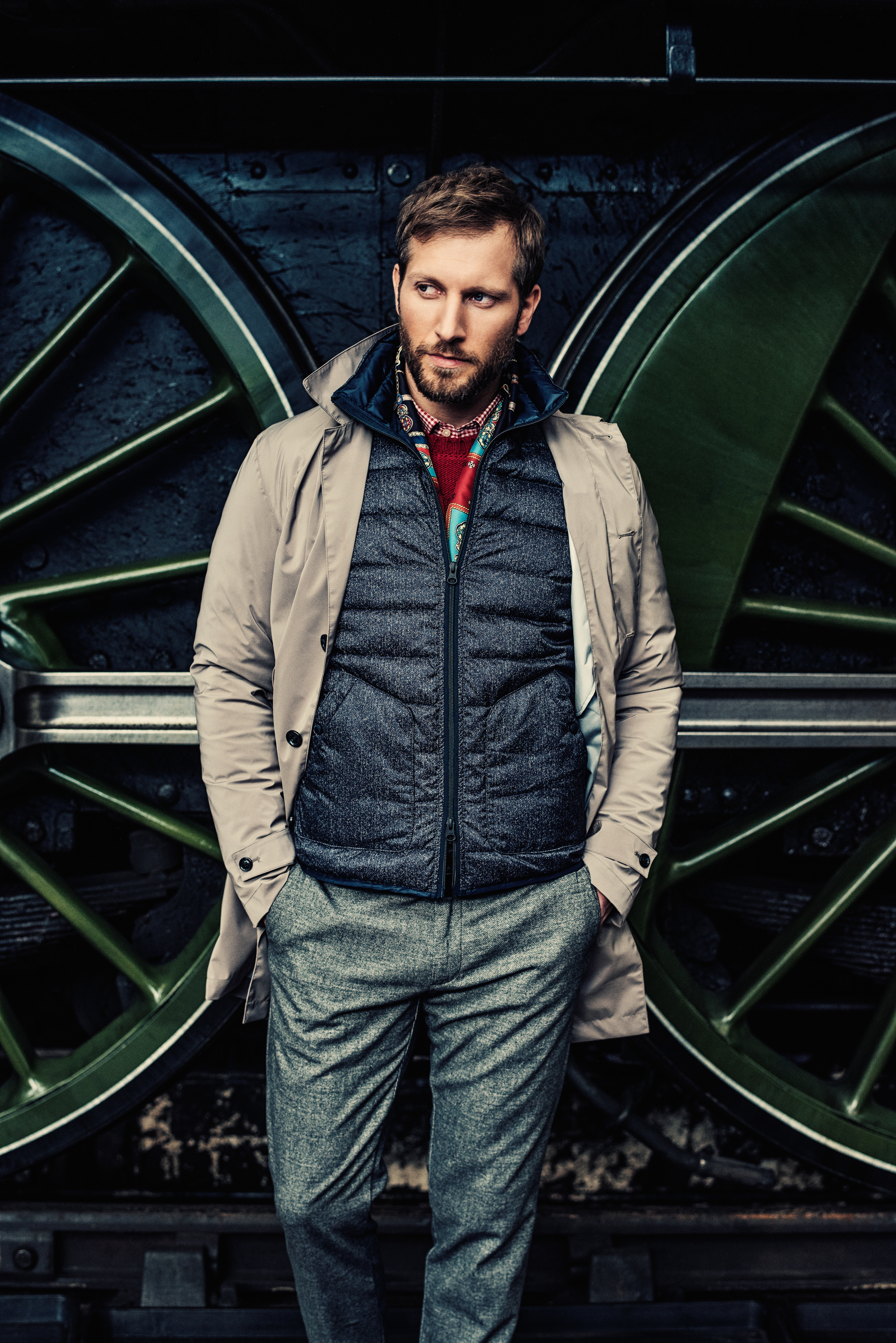 Henry Cottons AW17 Campaign