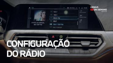 Configuração do Rádio