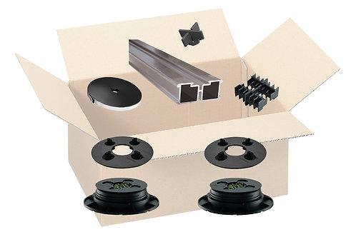 Musterset UPTEC Schienensystem SUPAS 71 - 86 mm