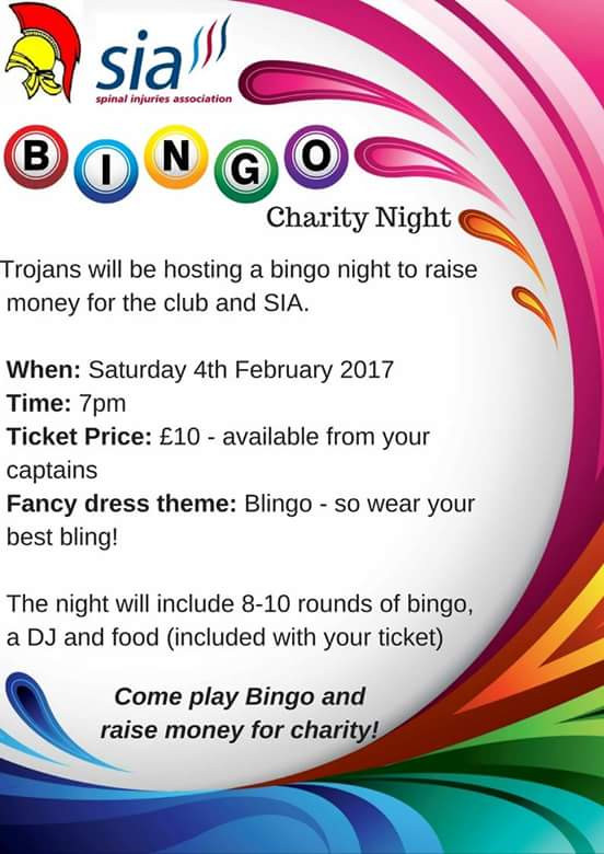Bingo night poster