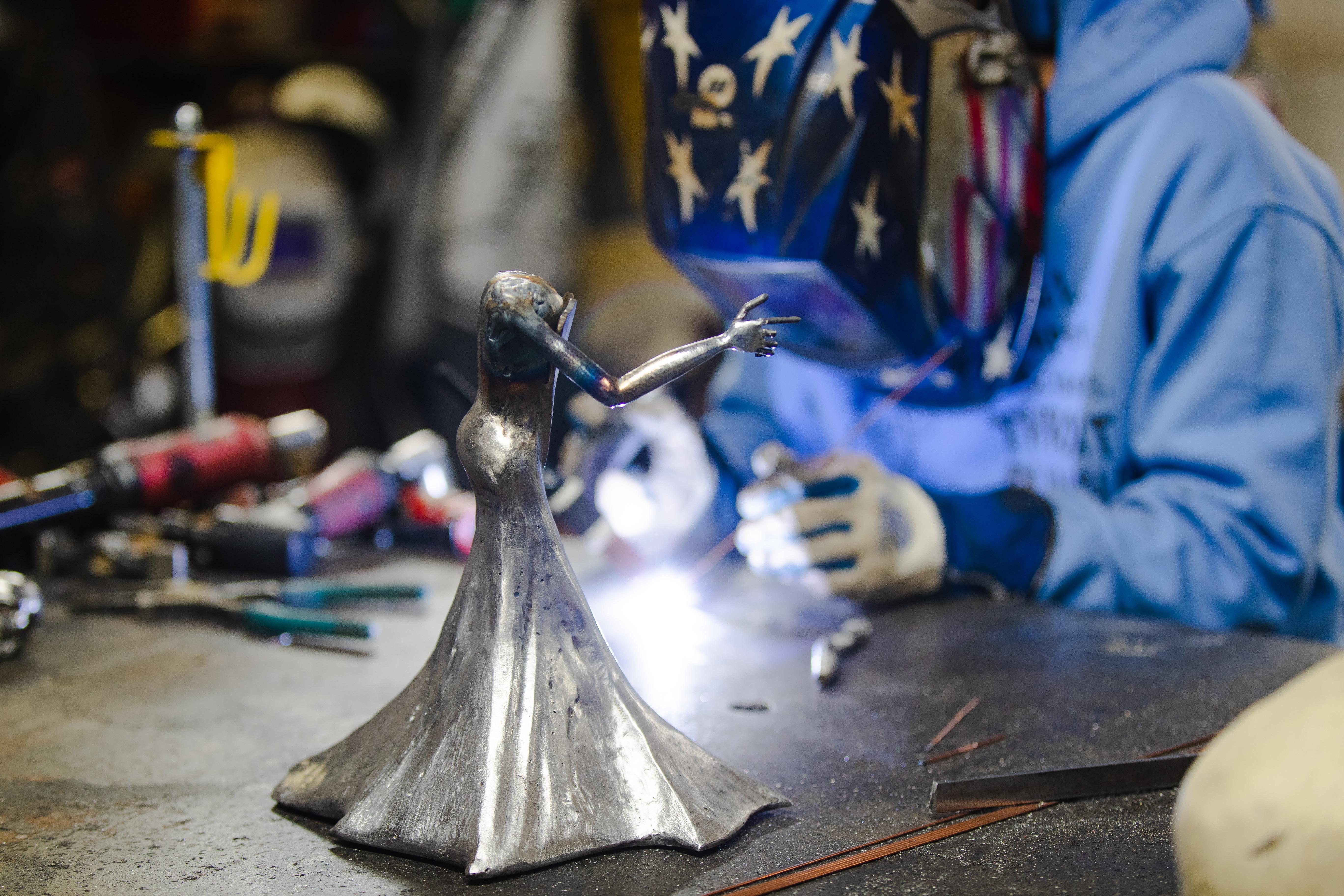 Barbie The Welder TIG welding Matilda Bat woman