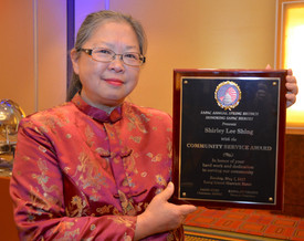 Shirley Shing Receives An Award from SAPAC