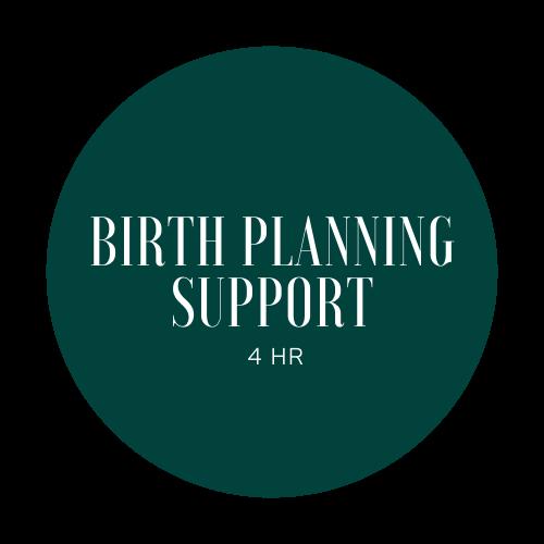 Birth Planning Support