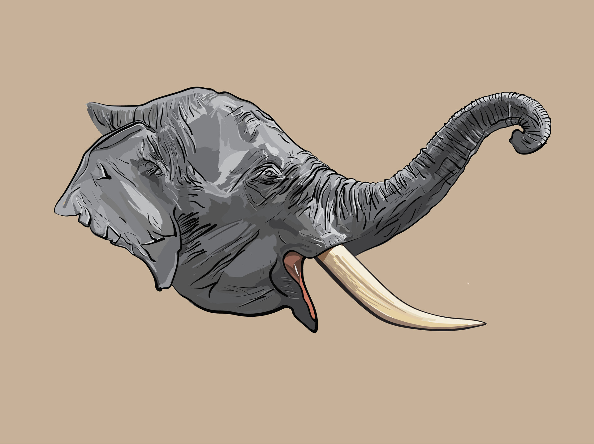 Final elephant design