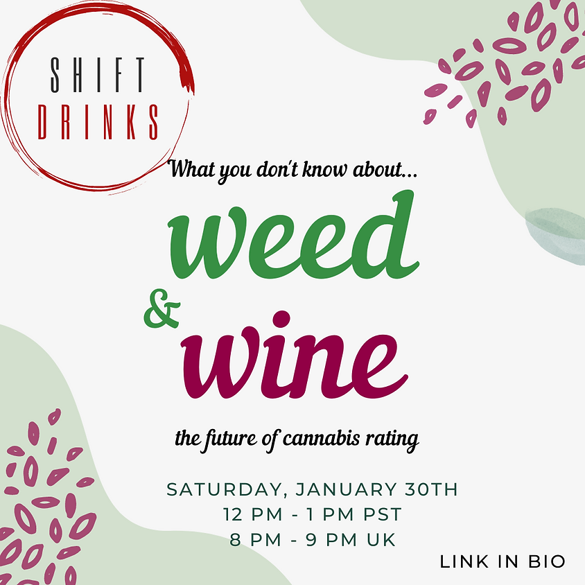 OMvino Shift Drinks - Weed & Wine: The Future of Cannabis Ratings