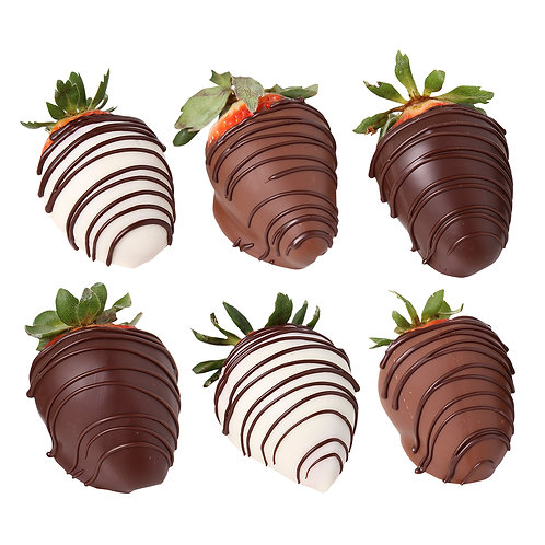 8 oz Chocolate Dipped Strawberries