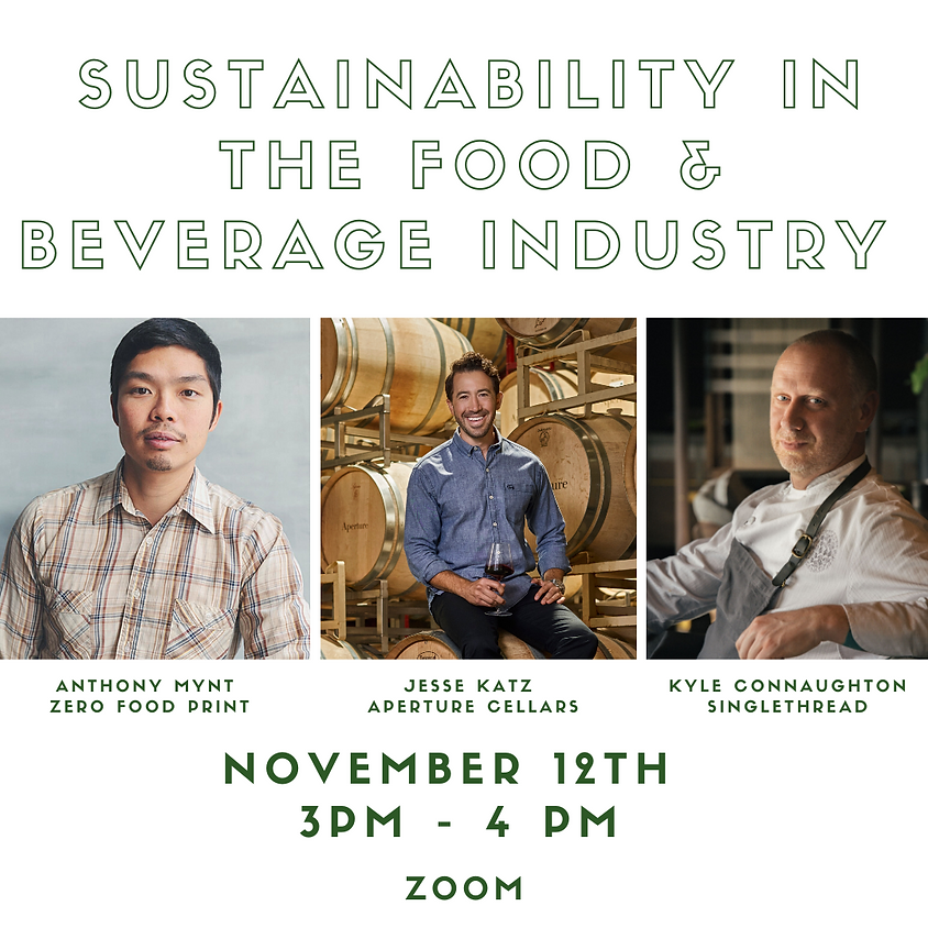 Canopy Discussion: Sustainability in the Food & Beverage Industry