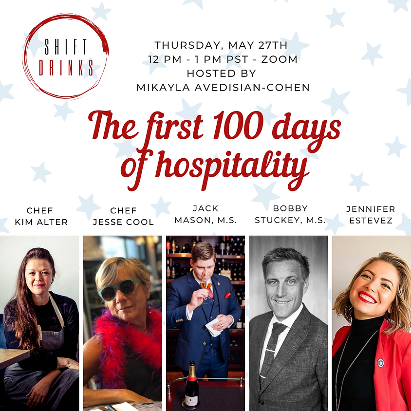 OMvino Shift Drinks - The First 100 Days of Hospitality