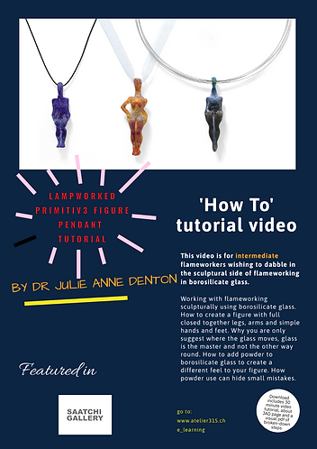 How to make a Primitive Figure pendant