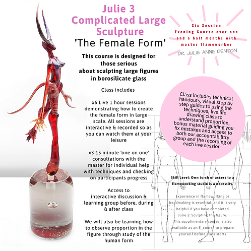 Julie 3: Big Sculpture - The Female Form E_course