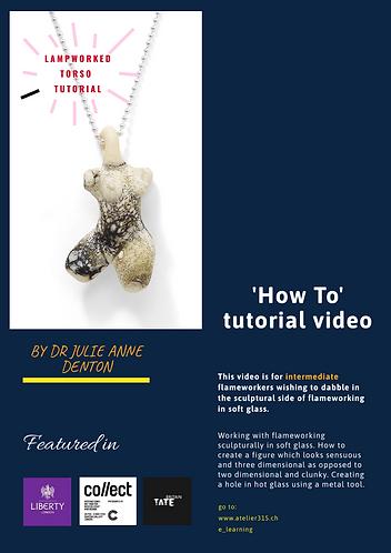 How to make a female torso pendant