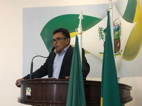 VEREADOR FELISBERTO SOLICITA AUXÍLIO EMERGENCIAL MUNICIPAL PARA OS COMERCIANTES DO MUNICÍPIO