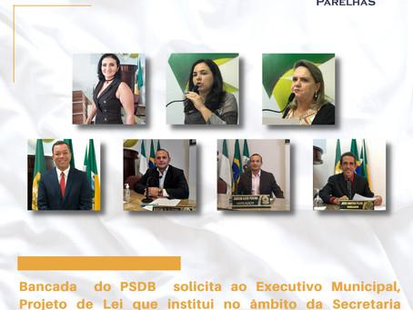 BANCADA DO PSDB SOLICITA AO EXECUTIVO PROJETO DE LEI QUE INSTITUI DA SECRETARIA DE SAÚDE O APP