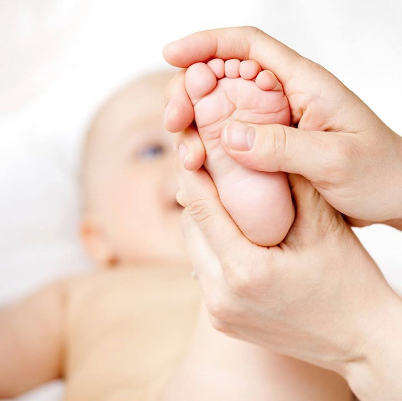 Massage du nourrisson