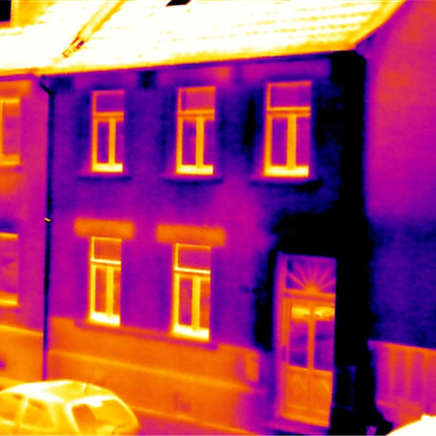Thermography for buildings CREANERGY