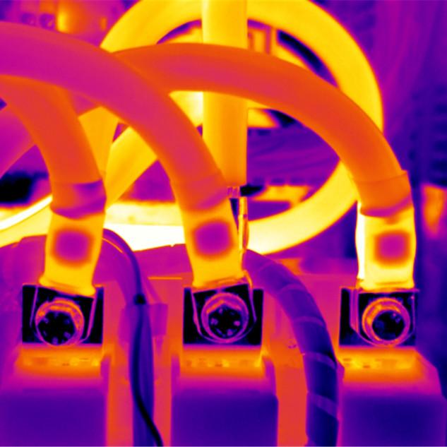 Thermography solar panels CREANERGY