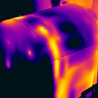 Thermography of thermal installations by CREANERGY