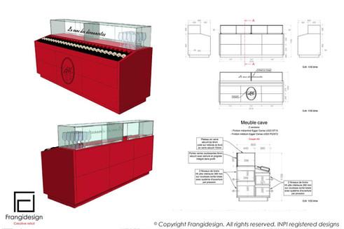 Architecture intérieure mobilier design graphisme