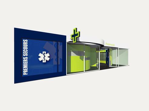 CONCEPT PHARMArchitecture intérieure mobilier design graphisme