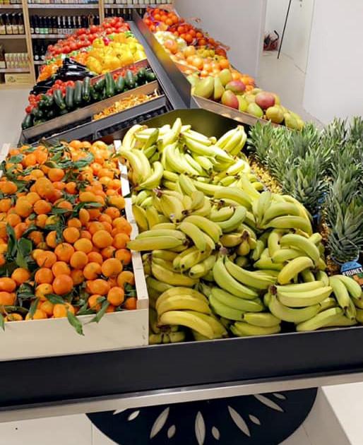 Mobilier fruits et légumes Horizon et arbres à cagettes Strasbourg