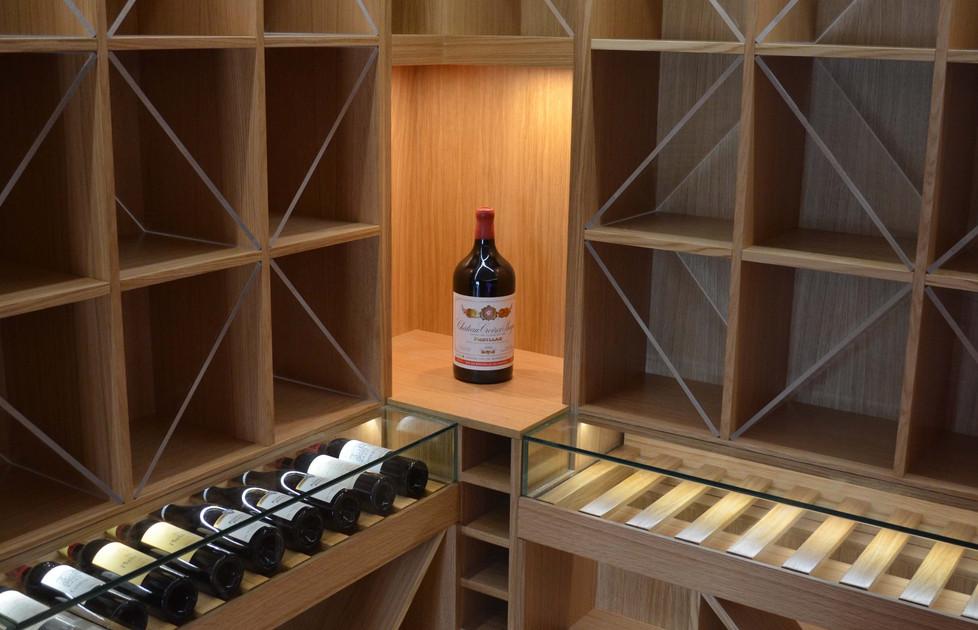 Cave à vins sur mesure