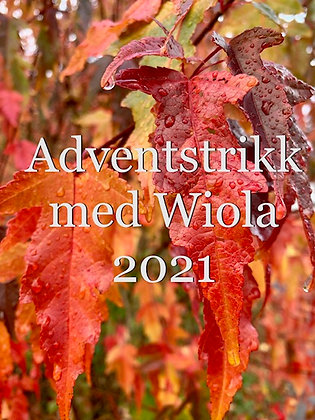 Adventstrikk med Wiola 2021